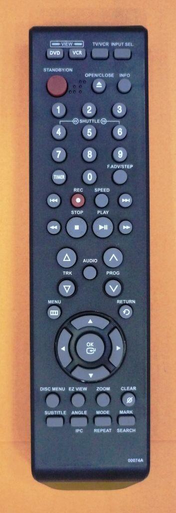 Samsung 00074A (AK59-00074A) (DVD/VCR)