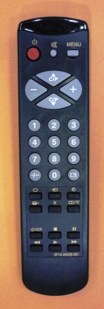 Samsung 3F14-00038-091/092/093 (TV, VCR) (CS-5385TBR, CS-5385TR, CS-5385ZR, CK-5341ZR, KS51810-79, PCA8521, KS51840-D0)
