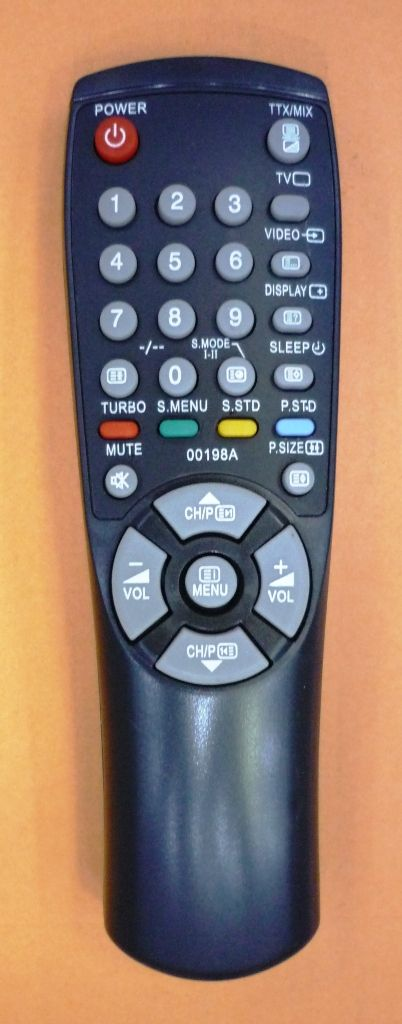 Samsung AA59-00198A (TV) (CS-29D4R, CS-15A8, CS-2185R, CS-21A0, CS-21A8, CS-21A9, CS-21AOWTQ, CS-21PT1654, CS-22B4, CS-22B5, CS-22B6, CS-22B7, CS-22B8, CS-2502, CS-25A6)