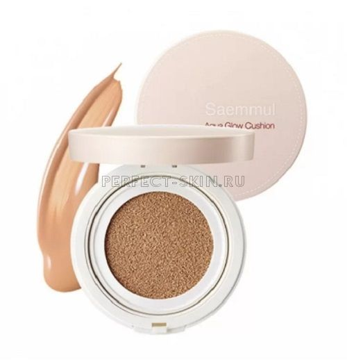 The Saem Eco Soul Cover Stay Cushion 02natural Bei SPF50 15g