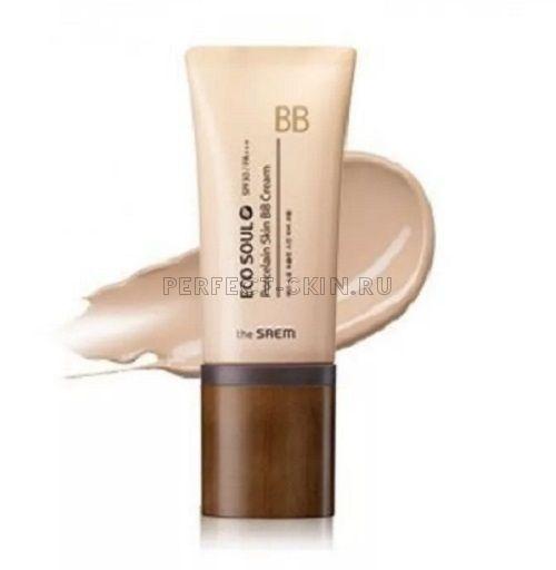 The Saem Eco Soul Porcelain Skin Bb Cream 02 Natural Beige SPF30/РА++ 45g