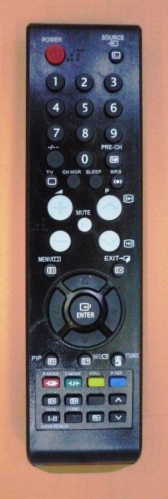 Samsung AA59-00382A (TV) (CS-29Z30 HPQ, CS-29Z30 HSQ, CS-29Z30 SPQ, CS-29Z40 HPQ, CS-29Z45HSQ, CS-29Z47HSQ, CS-29Z47Z3Q, CS-29Z58HYQ, WS 32Z40 HTQ, WS-32Z30 HPQ, WS-32Z30 SSQ)