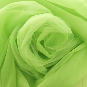 Мягкий фатин Пастель - салатовый