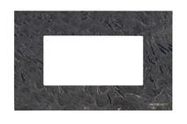 Рамка итал. станд. на 4 мод. ABB NIE Zenit Сланец