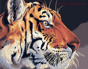 Картина по номерам Королевский тигр E361