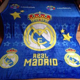 Плед одеяло Реал Мадрид 150х200 см