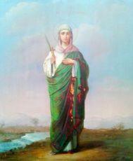 Икона Антонина Никейская (копия 19 века)