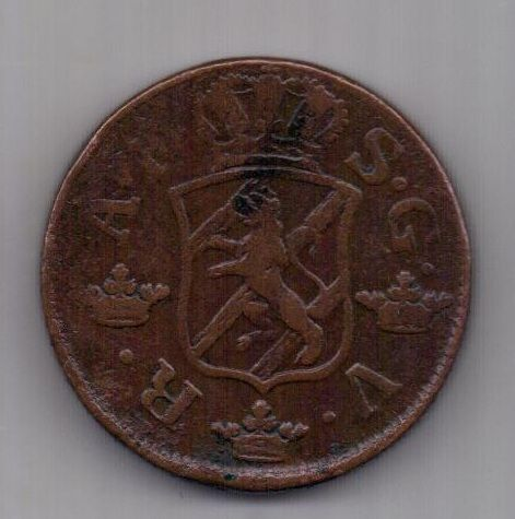 2 эре 1759 г. редкий год Швеция