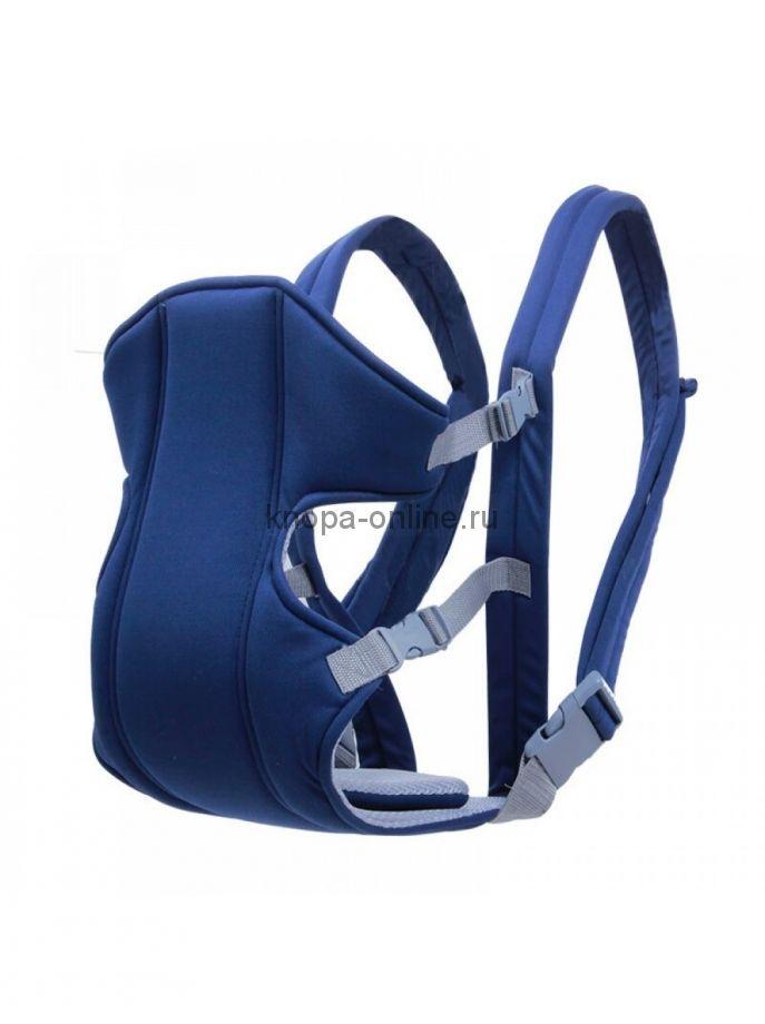 Кенгуру-рюкзак Hipseat - синий