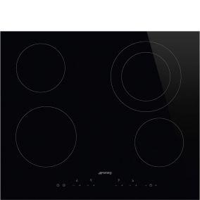Cтеклокерамическая варочная панель SMEG SE364ETD