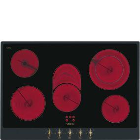 Cтеклокерамическая варочная панель SMEG P875A