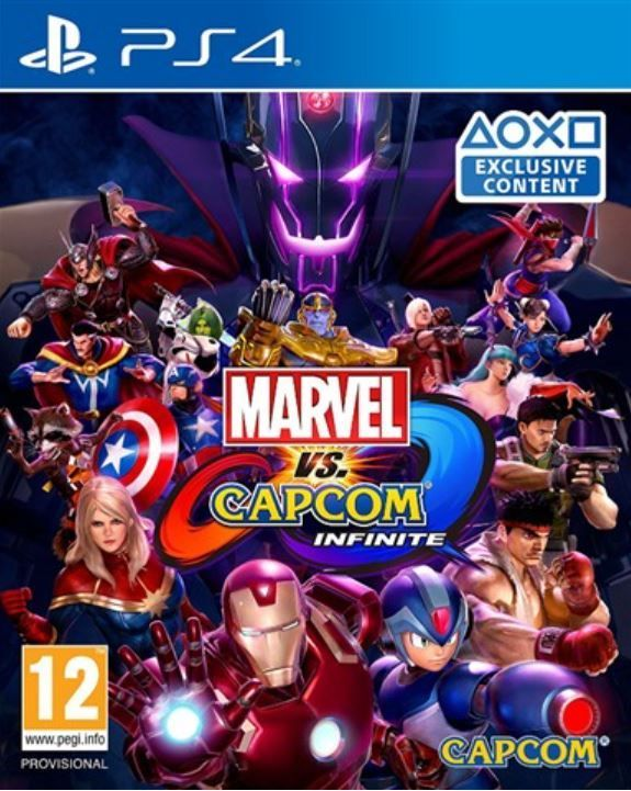 Игра Marvel VS. Capcom Infinite (PS4)