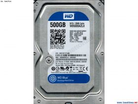 "Жесткий диск HDD 3.5"" 500Gb Western Digital WD Blue Desktop 500 GB WD5000AZLX"