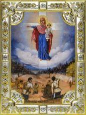 Августовская победа (18х24), серебро