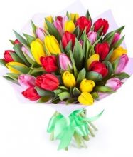 Букет из тюльпанов Ассорти