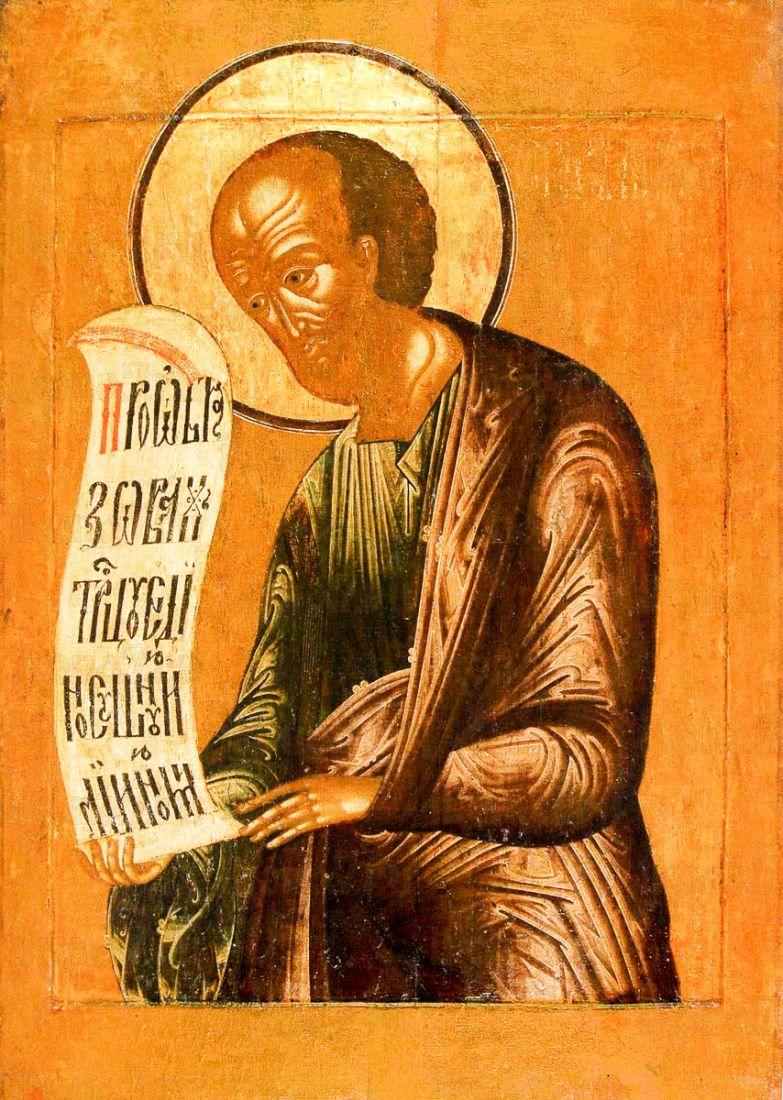 Елисей, пророк (копия иконы 17 века)