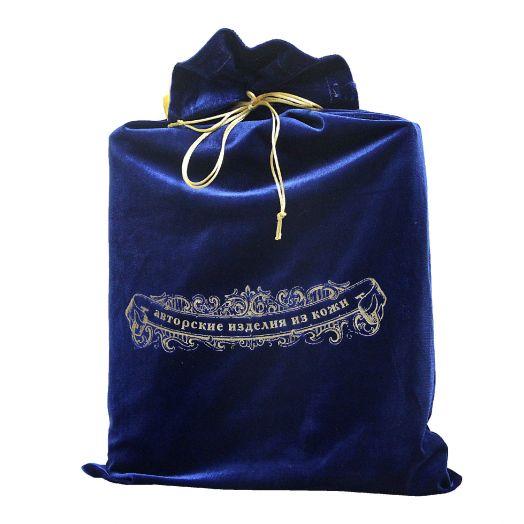 Мешок подарочный М-5 ультрамарин