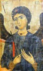 Икона Гавриил Архангел (копия 11 века)
