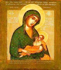 Барловская икона Божией Матери (копия 17 века)