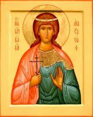 Анастасия Романова (икона на дереве)