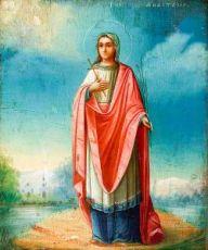 Икона Анастасия Патрикия (копия 19 века)