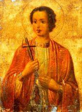 Икона Вонифатий Тарсийский (копия старинной)