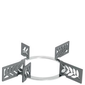 Набор декоративных решеток. Дизайн - листья. Smeg KPDSN75L