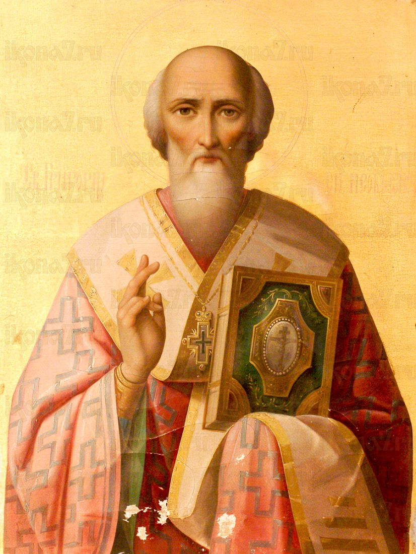 Григорий Неокесарийский (копия иконы 19 века)