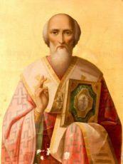 Икона Григорий Неокесарийский (копия 19 века)