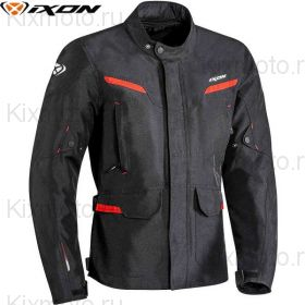 Куртка Ixon Summit 2, Черно-красная