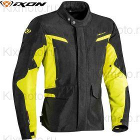 Куртка Ixon Summit 2, Черно-желтая неоновая