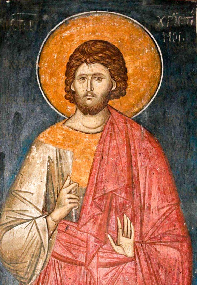 Христофор Псеглавец (копия иконы 14 века)