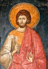 Икона Христофор Псеглавец (копия 14 века)