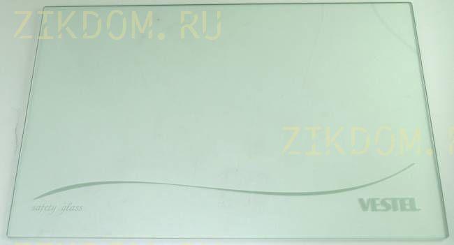 Полка стеклянная для холодильника Vestel 48000303
