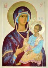 Шуйская Смоленская (икона на дереве)