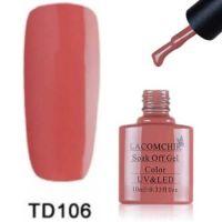 Lacomchir TD 106 гель-лак, 10 мл