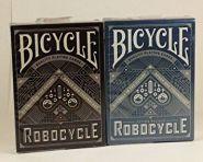 Карты Bicycle Robocycle (черные и синие)
