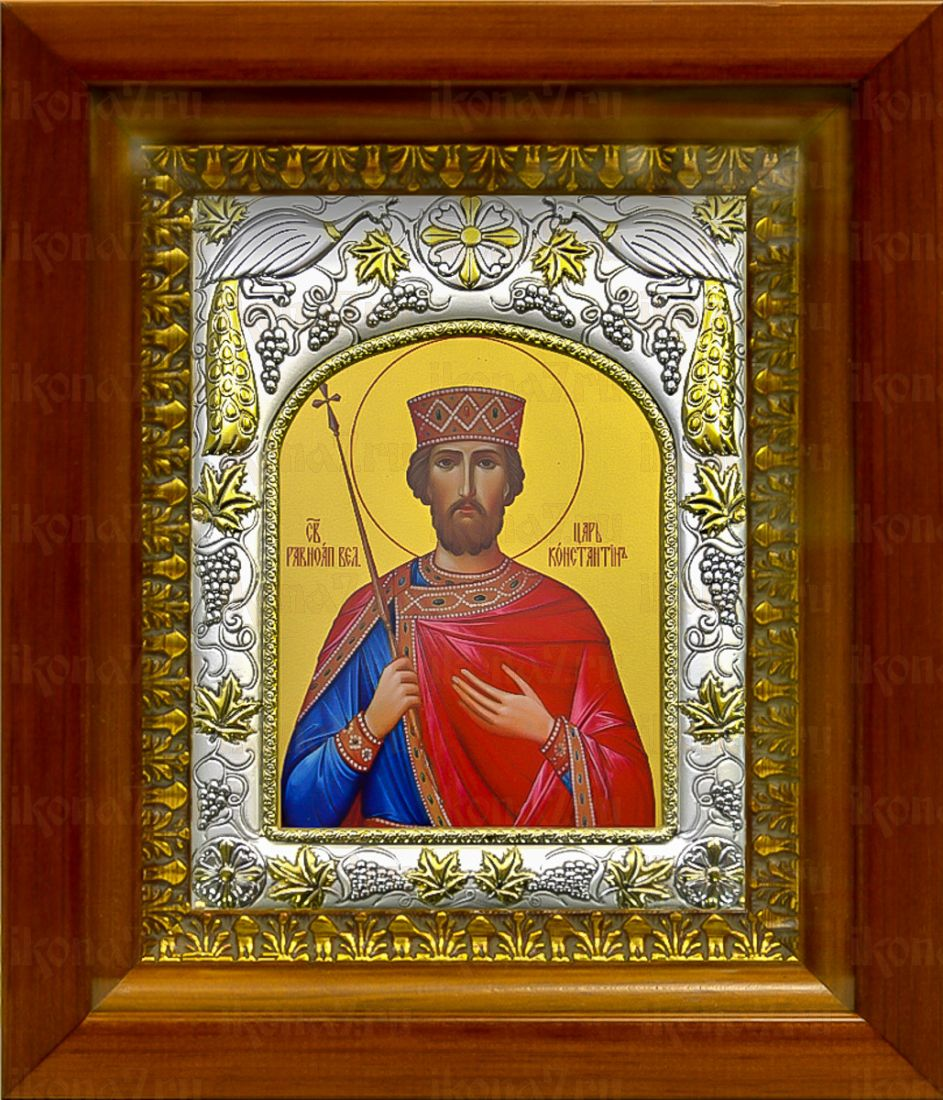 Константин Великий (20х24), серебро