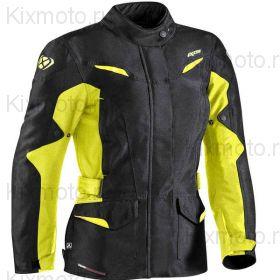 Куртка женская Ixon Summit 2, Черно-желтая Неоновая