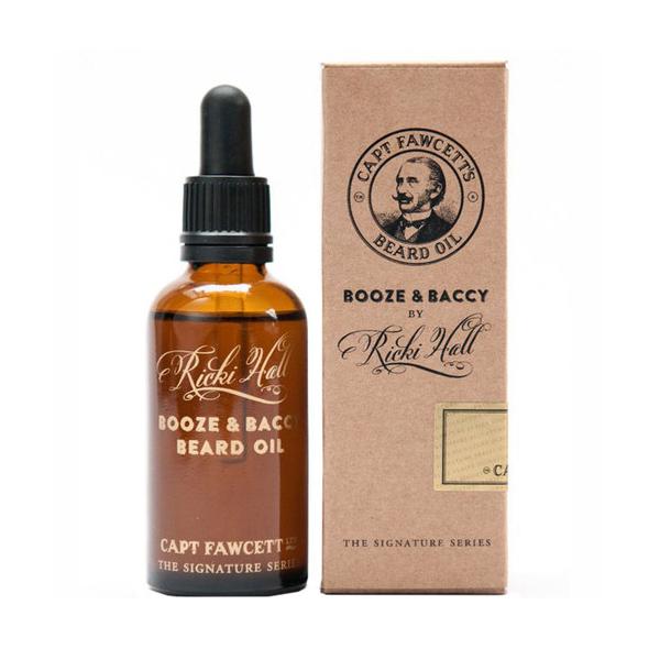 Масло Captain Fawcett's Ricki Hall's Booze для бороды