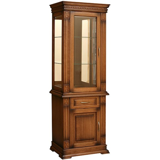 Шкаф комбинированный Верди Люкс 1з П 487.34з