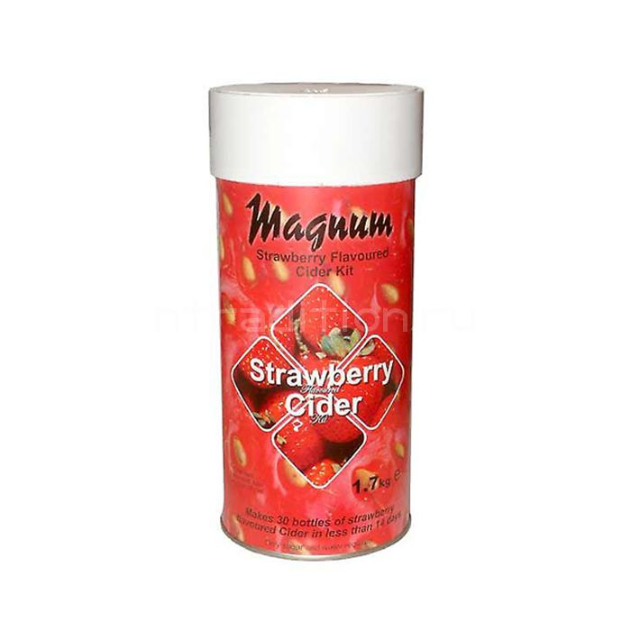 Экстракт Сидр Magnum Strawberry Cider 1.7 кг. (клубника)