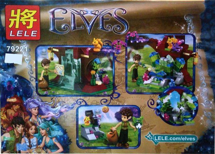 "LELE Elves ""Кристаллы Эльфа Фаррана"" 178 деталей NO.79221"