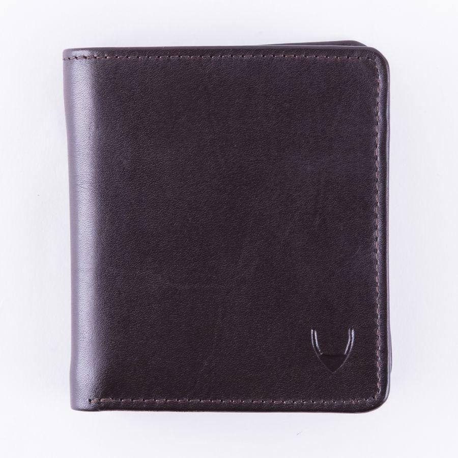 Классический кошелек для энергичных мужчин Hidesign Grenoble Dark Brown