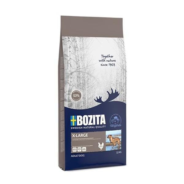 Корм сухой BOZITA Naturals для взрослых собак крупных пород c нормальным уровнем активности 12кг