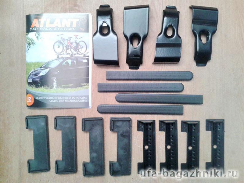 Адаптеры для багажника Lada XRay, Атлант, артикул 7217