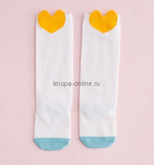 Гольфы - Желтое сердце