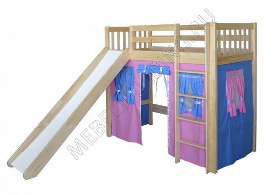Игровая кровать-чердак Трубадур-3