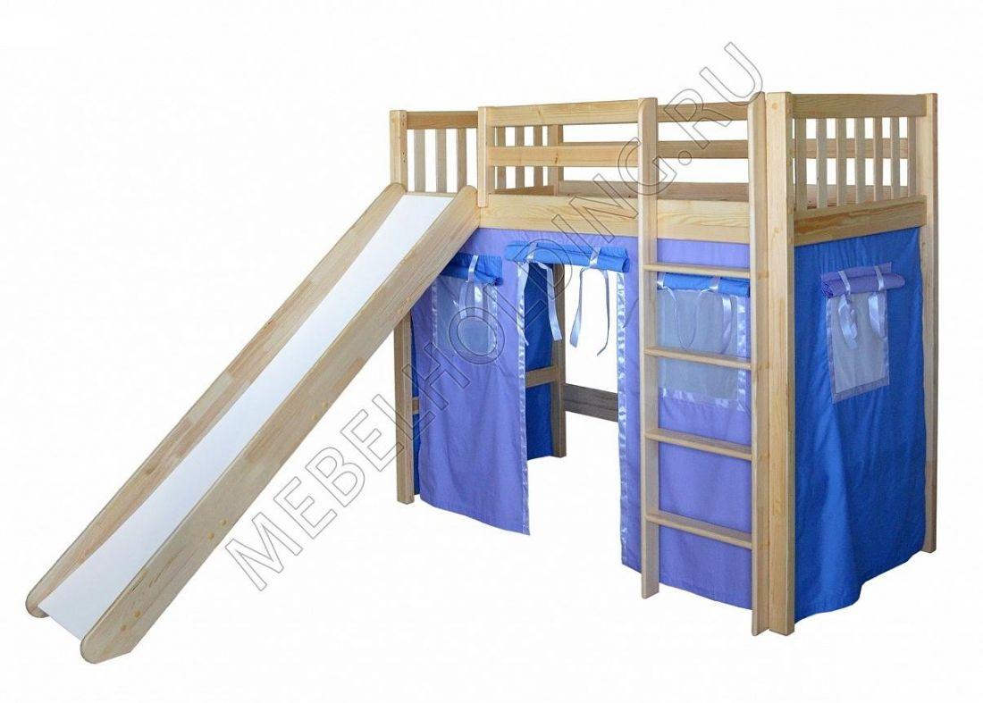 Игровая кровать-чердак Трубадур-4