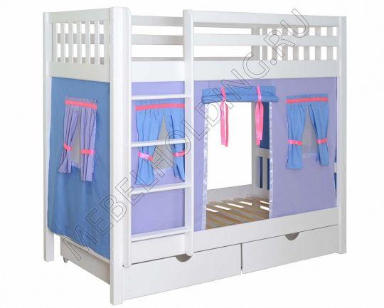 Двухъярусная игровая кровать Галчонок-2
